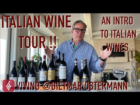 Intro to Italian Wine || Chianti vs Barolo tasting! Decants with D