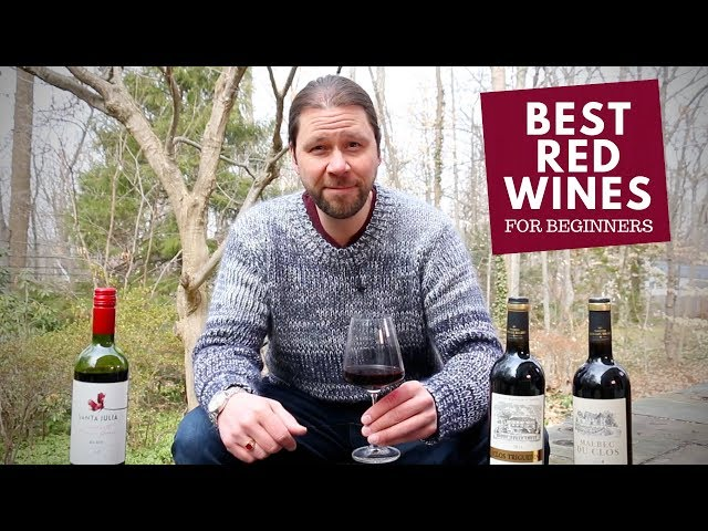Marc Supsic's Best Red Wines for Beginners