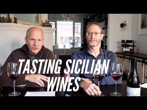Nero D'Avola vs Nerello Mascalese, Tasting Sicilian Wine