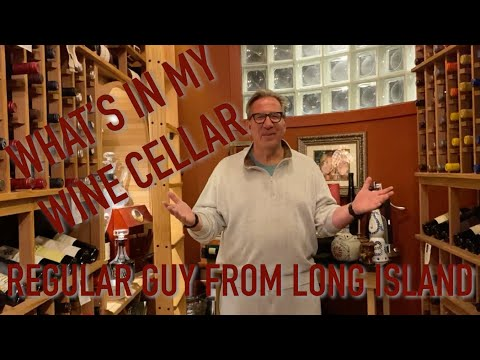 Wine Cellar Tour!  See What's Inside My 1200 Bottle Cellar