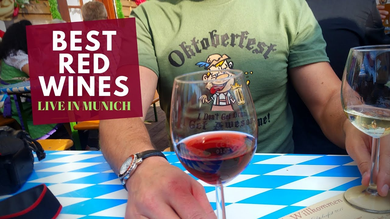 The Best Red Wines for Beginners (Munich Oktoberfest Edition)
